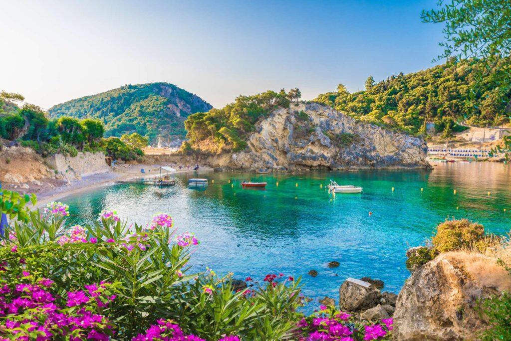 Het eiland Corfu